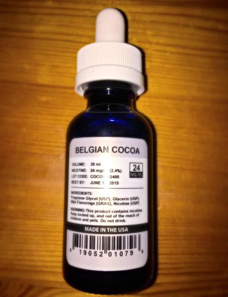 Halo G6 E-Liquid - Belgian Cocoa